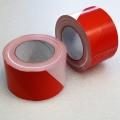 Výstražná páska - 80 mm / 200 m, červeno-bílá