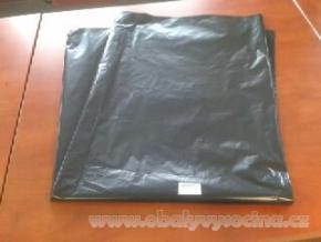 PE odpadový pytel černý - 1000 x 1500 mm