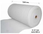 Pěnový polyetylen - 1000 mm / 0,7 mm, návin 600 m