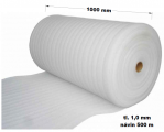 Pěnový polyetylen - 1000 mm / 1 mm, návin 500 m