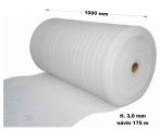 Pěnový polyetylen - 1000 mm / 3 mm, návin 175 m