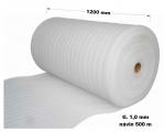 Pěnový polyetylen - 1200 mm / 1 mm, návin 500 m