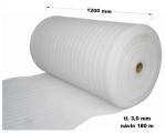 Pěnový polyetylen - 1200 mm / 3 mm, návin 180 m