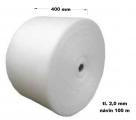Pěnový polyetylen - 400 mm / 2mm, návin 100 m