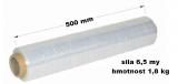 Stretch fólie COEX WRAP - 49cm / 6,5my / 1,8kg, návin 600m