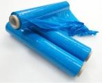 Stretch fólie ruční modrá - 50cm / 23my / 2,3kg, návin 153 m