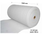 Pěnový polyetylen - 1000 mm / 2 mm, návin 100 m