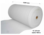 Pěnový polyetylen - 1200 mm / 2 mm, návin 100 m