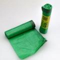 Sáček do koše uzatahovací - 60 x 80 cm, zelený
