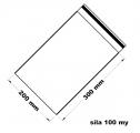 Rychlouzavírací sáček - extra pevné 20 x 30 cm
