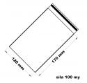 Rychlouzavírací sáček - extra pevné 12 x 17 cm