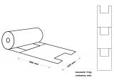 Taška mikrotenová (3 kg) - rolovaná