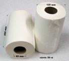 Papírové utěrky 50 m bily 2vr 402414 - 143 ks