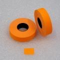 Etiketovací kotoučky - 16x23 oranžový