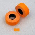 Etiketovací kotoučky - 21 x 12 oranžový