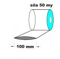 Hadice 1.A kvalita - 100 mm / 50 my - cena za 1kg (min.odb.10kg)
