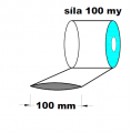 Hadice 1.A kvalita - 100 mm / 100 my- cena za 1kg (min.odb.10kg)