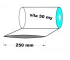 Hadice 1.A kvalita - 250 mm / 50 my - cena za 1kg (min.odb.15kg)