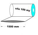 Hadice 1.A kvalita - 1500 mm / 100 my - cena za 1kg (min.odb.30kg)
