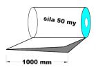 PE polohadice - 1000mm / 0,05mm, 1.A-cena za 1kg (min.odb.30kg)