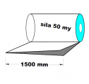 PE polohadice - 1500mm / 0,05 recyklát-cena za 1kg (min.odb.30kg)
