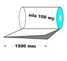 PE polohadice - 1500mm / 0,1 recyklát-cena za 1kg (min.odb.38kg)