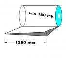 PE polohadice - 1250mm / 0,18mm recyklát-cena za 1kg (min.odb.50kg)