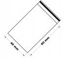 Rychlouzavírací sáček 4x6 cm 100 ks