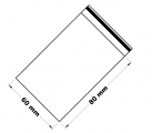 Rychlouzavírací sáček 6x8 cm 100 ks