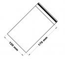 Rychlouzavírací sáček 12x17 cm 100 ks