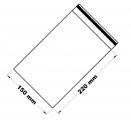 Rychlouzavírací sáček 15x22 cm 100 ks
