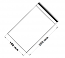 Rychlouzavírací sáček  18x25 cm 100 ks