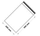 Rychlouzavírací sáček 20x30 cm 100 ks
