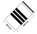 Rychlouzavírací sáčky s popisovacím pruhem 20x30 cm 100 ks