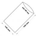 PE sáček průhledný - 140 x 160 mm /0,09