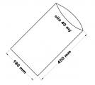 PE sáček průhledný - 180 x 450 mm / 0,04