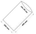 PE sáček průhledný - 200 x 400 mm / 0,04