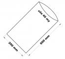 PE sáček průhledný - 200 x 600 mm /0,04