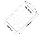 PE sáček -200x305mm/0,08 mikroperforace(ježek)