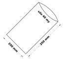 PE sáček průhledný - 250 x 250 mm / 0,04 bal.100ks