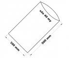 PE sáček průhledný - 350 x 500 mm / 0,04