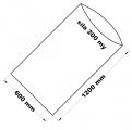 PE sáček průhledný - 600 x 1200 mm / 0,2