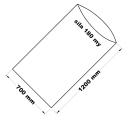 PE sáček průhledný - 700 x 1200 mm / 0,18