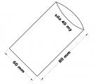 PE sáček průhledný - 60x80mm / 0,05