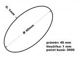 Gumičky svazkovací - 40 mm 1 mm síla