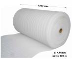 Pěnový polyetylen - 1200 mm / 4 mm, návin 125 m