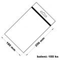 Rychlouzavírací sáček s eurovýsekem 18x25 100 ks