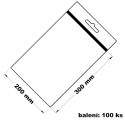 Rychlouzavírací sáček s eurovýsekem 20x30 100 ks
