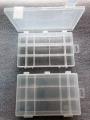 Organizér  bílý 251645-plastová krabička na kancel.a drobné předměty