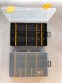 Organizér  šedý 251645-plastová krabička na kancel.a drobné předměty